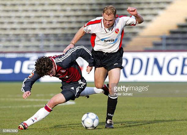 1 BUNDESLIGA 01/02 Muenchen FC BAYERN MUENCHEN FC ENERGIE COTTBUS 60 Owen HARGREAVES/BAYERN /COTTBUS