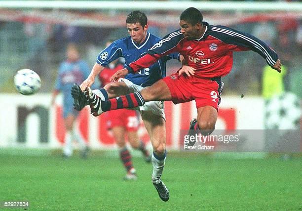 LEAGUE 99/00 Muenchen FC BAYERN MUENCHEN GLASGOW RANGERS FC 10 Barry FERGUSON/GLASGOW Giovane ELBER/MUENCHEN