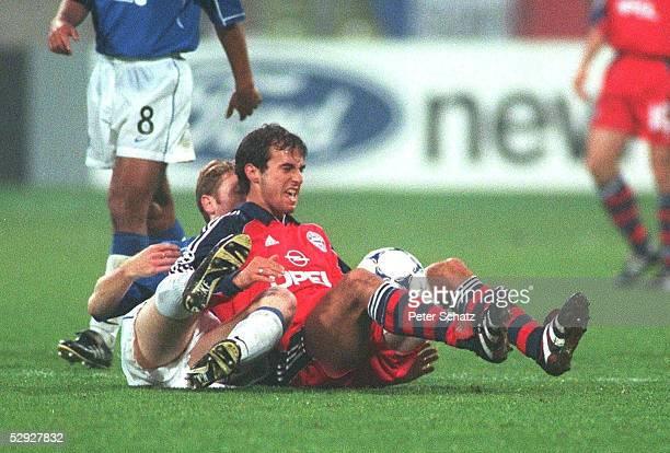 LEAGUE 99/00 Muenchen FC BAYERN MUENCHEN GLASGOW RANGERS FC 10 Craig MOORE/GLASGOW Mehmet SCHOLL/MUENCHEN