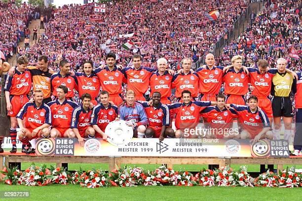 BUNDESLIGA 98/99 Muenchen FC BAYERN MUENCHEN VFL BOCHUM BAYERN MUENCHEN DEUTSCHER MEISTER 1999
