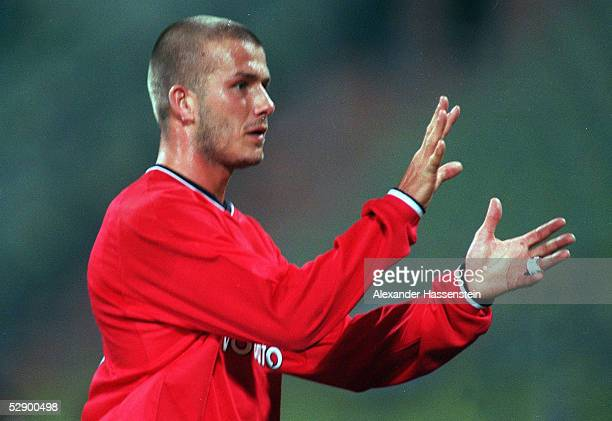 MASTERS Muenchen REAL MADRID MANCHESTER UNITED 01 David BECKHAM/MANCHESTER