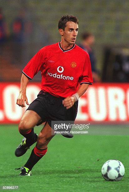 MASTERS Muenchen REAL MADRID MANCHESTER UNITED 01 Gary NEVILLE/MANCHESTER