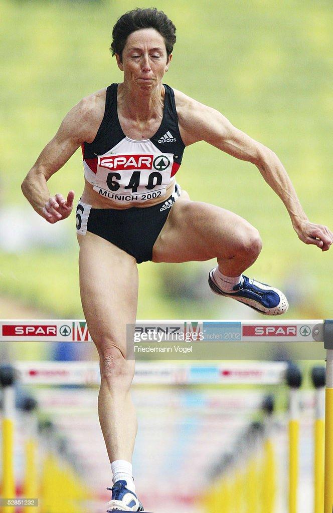 100% Zufriedenheitsgarantie lässige Schuhe aliexpress EM 2002, Muenchen; SIEBENKAMPF/FRAUEN/100m HUERDEN; Sabine ...