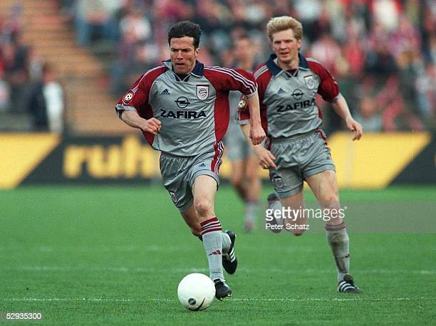 1 BUNDESLIGA 98/99 Muenchen TSV 1860 MUENCHEN FC BAYERN MUENCHEN 11 Lothar MATTHAEUS Stefan EFFENBERG/BAYERN