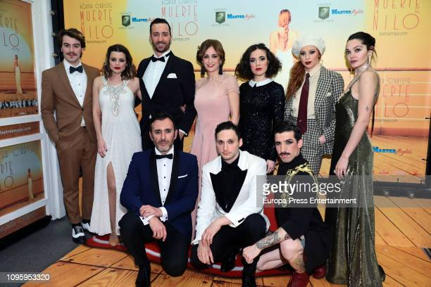 'Muerte en el Nilo' cast attend the 'Muerte en el Nilo' photocall on January 17 2019 in Madrid Spain