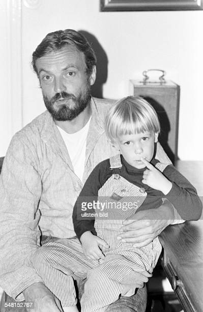 Mues Dietmar Actor Germany and his son Jona