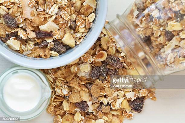 Muesli breakfast