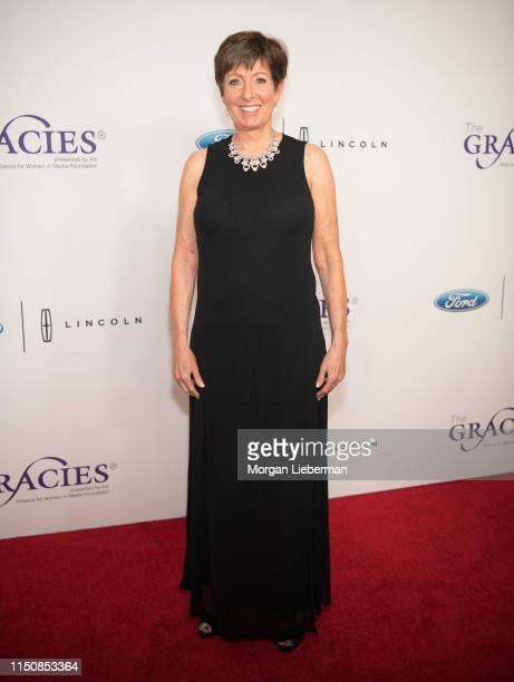 Muffet McGraw attends The Alliance For Women In Media Foundation's 44th Annual Gracie Awards at the Beverly Wilshire Four Seasons Hotel on May 21...
