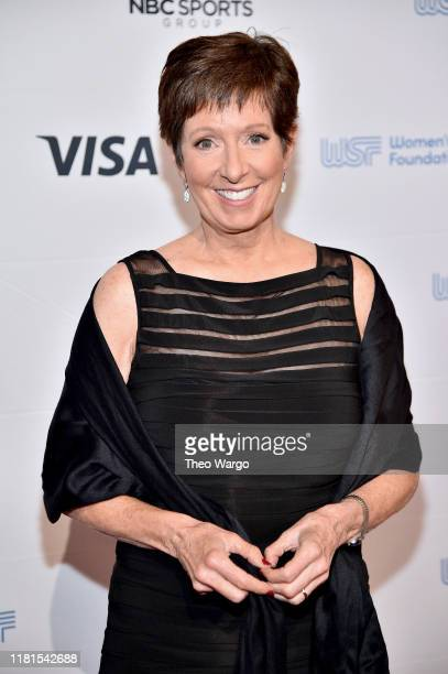 Muffet McGraw attends The Women in Sports Foundation 40th Annual Salute to Women in Sports Awards Gala celebrating the most accomplished women in...