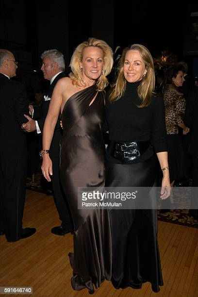 Muffie Potter Aston and Anne Hearst attend The Alzheimer's Association Rita Hayworth Gala Meet Me At The Stork Club at Waldorf Astoria on November 1...