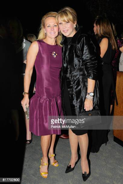 Muffie Potter Aston and Mila Mulroney attend MUSEUM OF THE CITY OF NEW YORK Director's Council Host's NEW YORK AFTER DARK at Pool Room on October 13...