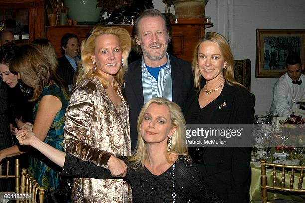 Muffie Potter Aston Patrick McMullan Debbie Bancroft and Anne Hearst attend Engagement Dinner for JAY MCINERNEY and ANNE HEARST hosted by GEORGE...