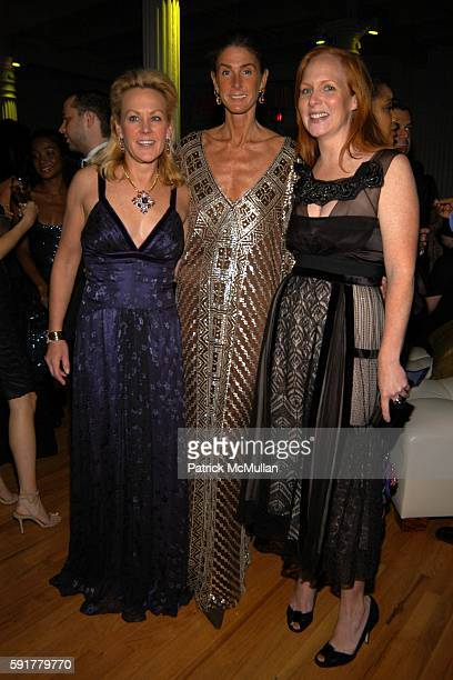 Muffie Potter Aston Somers Farkas and Anne Grauso attend The Henry Street Settlement 2005 Dinner Dance and Auction at The Puck Building on October 25...