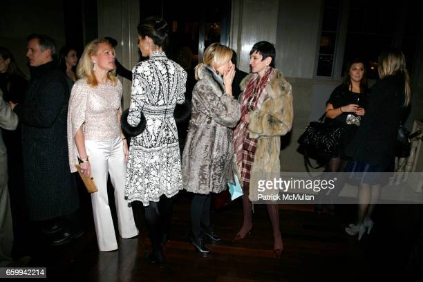 Muffie Potter Aston Somers Farkas Carol Mack and Anne Fine Collins attend AMERICAN BALLET THEATRE et al celebrates the publication of Bravura Lucia...