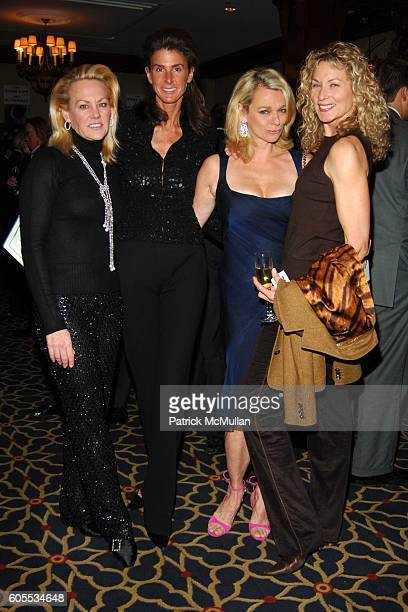 Muffie Potter Aston Somers Farkas Debbie Bancroft and Susie Hayes attend THE GOOD LIFE a Novel by Jay McInerney Book Party hosted by Anne Hearst at...