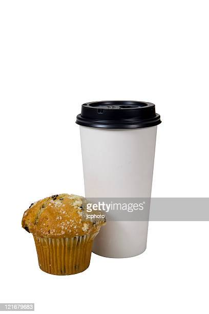 muffin and coffee to go