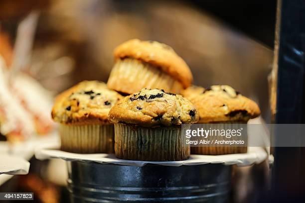 Muffins in Bricklane Market.