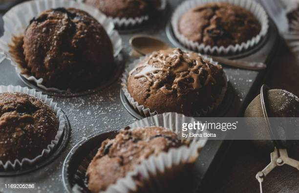 muffins - muffin stock pictures, royalty-free photos & images