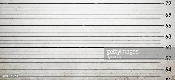 mug shot background - confrontatie stockfoto's en -beelden