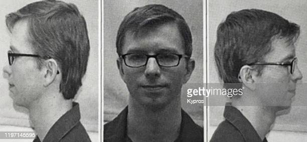 Mug shot of American activist and whistleblower Bradley Manning, later Chelsea Manning, following his court martial for leaking classified documents...