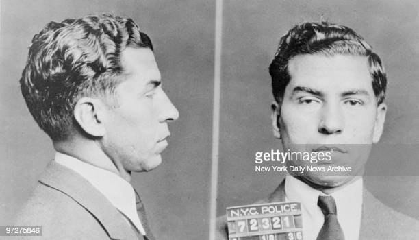 STATES Mug shot of mobster Charles 'Lucky' Luciano