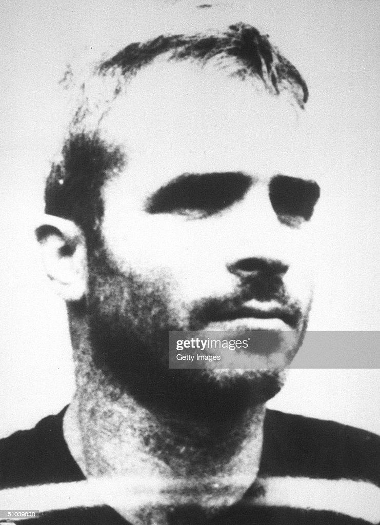 A Mug Shot Of Senator John Mccain As A P.O.W. Taken By The North Vietnamese Sometime Between 1967-73