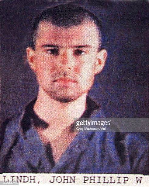 Mug shot of suspected American Taliban traitor John Walker Lindh