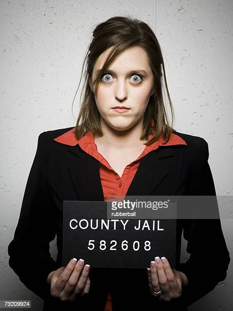 Mug shot of woman in business attire