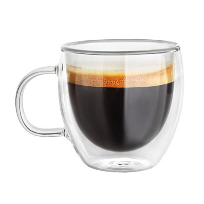 Mug with espresso coffee isolated 1148733827