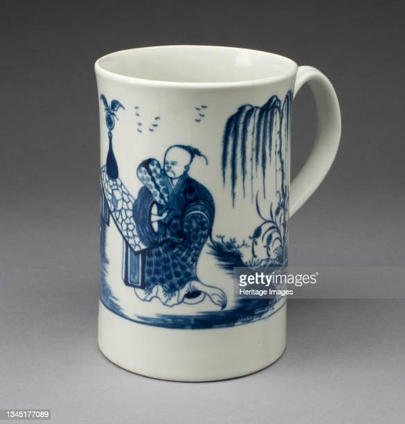 Mug, Worcester, 1765/75. Artist Royal Worcester.