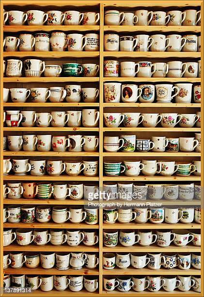 mugs - collection stock pictures, royalty-free photos & images