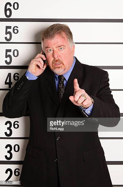 mugshot のビジネスマン - 犯罪者 ストックフォトと画像