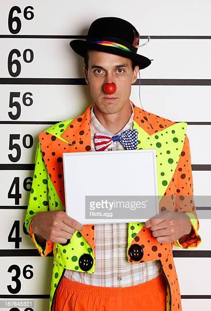 Mugshot Ein Clown