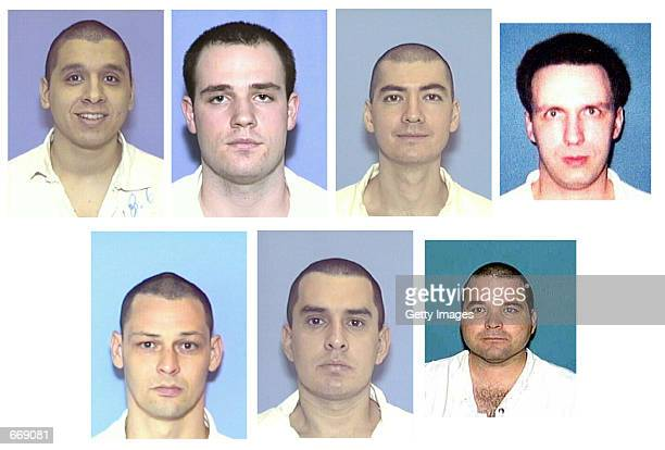 Mugshots of wanted armed convicts who escaped from Connally Unit Prison December 13 2000 The escapees are suspected of killing Police Officer Aubrey...