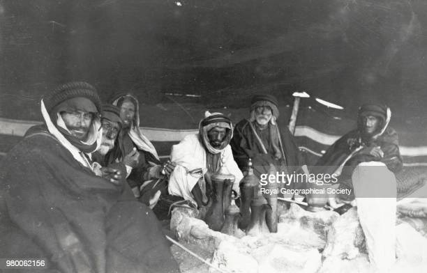 Muhammad Abu Tayyi's Tent Saudi Arabia 1913