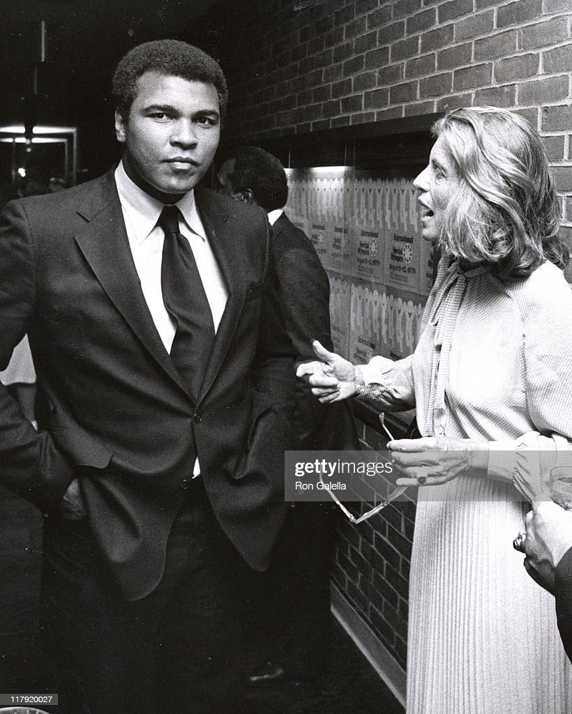 Muhammad Ali and Eunice Kennedy Shriver during 1979 Special Olympics at SUNY Brockport Campus in Brockport, New York, United States.