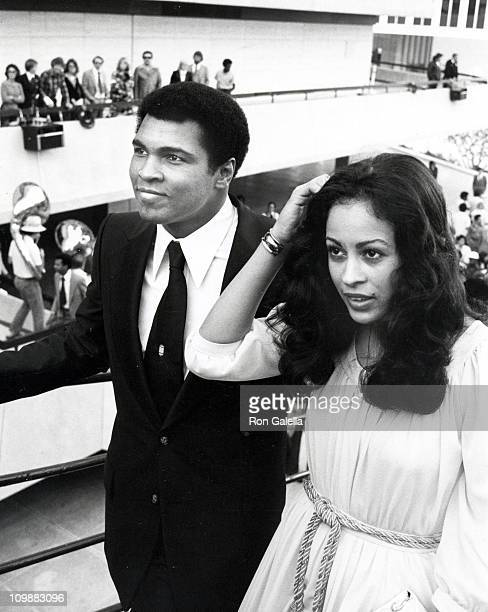 Muhammad Ali and wife Veronica