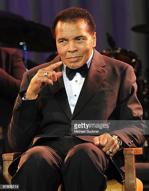 Muhammad Ali attends Celebrity Fight Night XVI on March 20, 2010 at the JW Marriott Desert Ridge in Phoenix, Arizona.