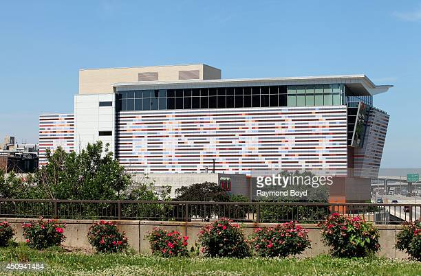 Muhammad Ali Center as photographed from Riverfront Plaza on May 31 2014 in Louisville Kentucky
