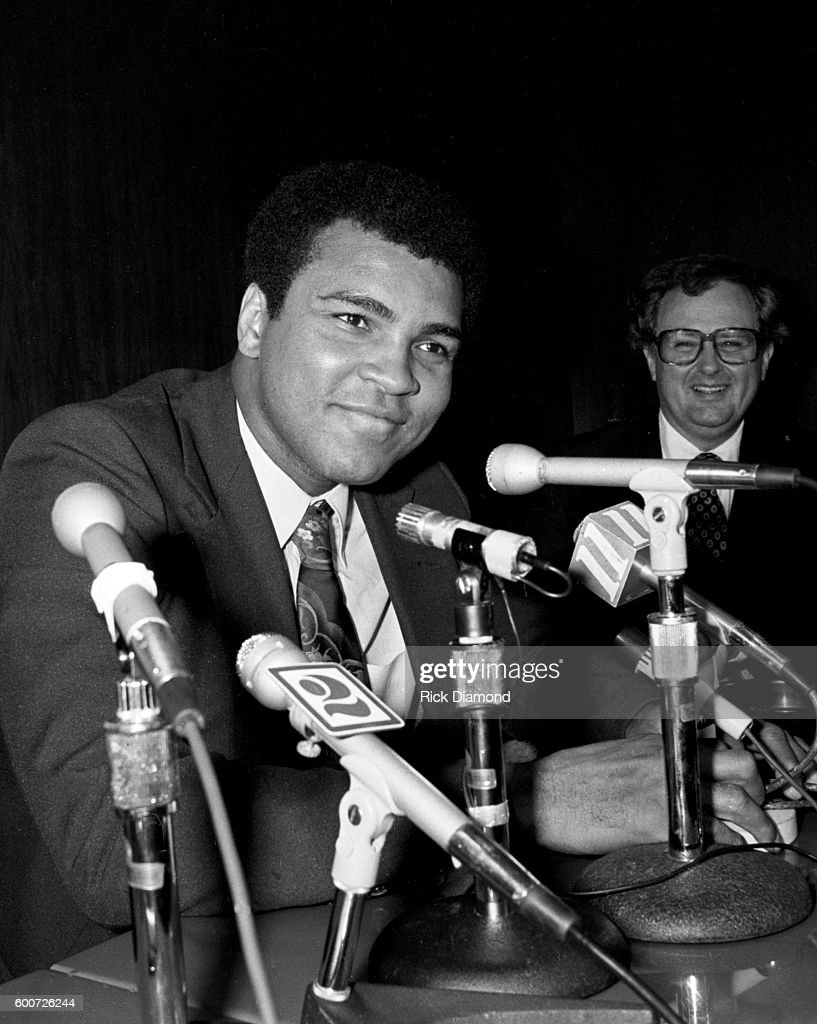 Muhammad Ali - Friendship Force Exhibition Charity Fight : News Photo