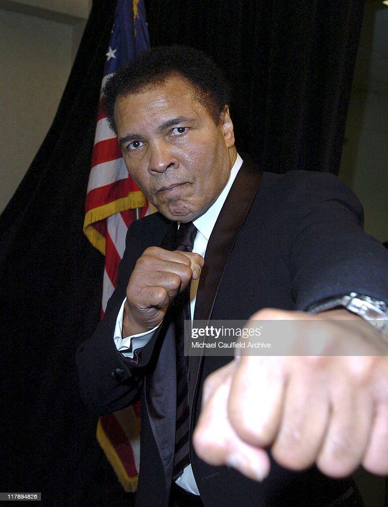 Muhammad Ali during Celebrity Fight Night XI at Arizona Biltmore Resort in Phoenix, Arizona, United States.