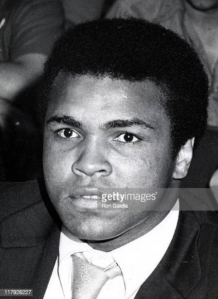 Muhammad Ali during Joe Frazier vs Jerry Quarry Fight at Madison Square Garden in New York City New York United States