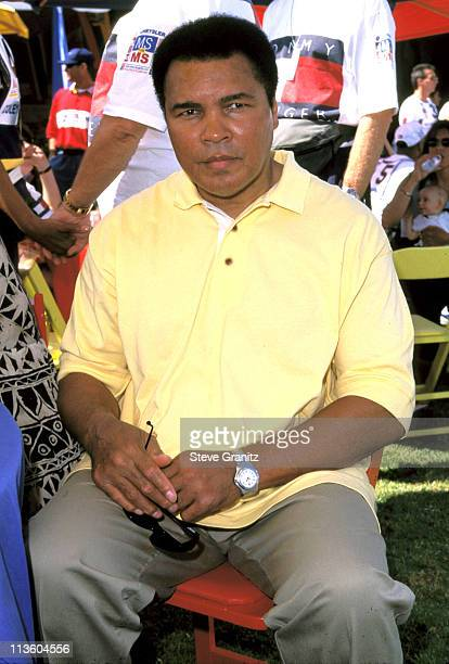 Muhammad Ali during Nancy Davis Annual Race to Erase MS at UCLA Drake Stadium in Beverly Hills, California, United States.