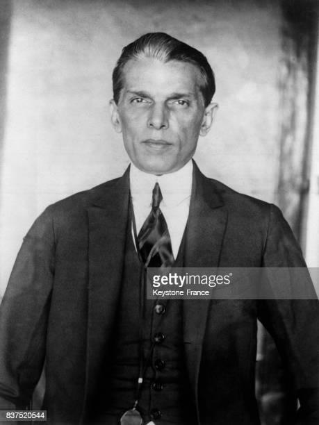 Muhammad Ali Jinnah leader de la ligue musulmane indienne