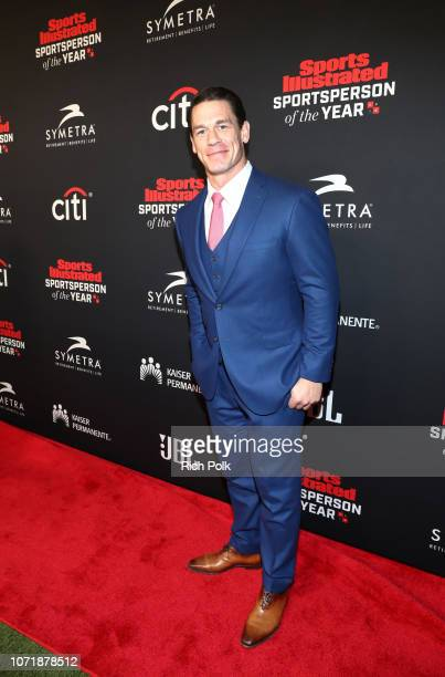 Muhammad Ali Legacy Award recipient John Cena attends Sports Illustrated 2018 Sportsperson of the Year Awards Show on Tuesday December 11 2018 at The...