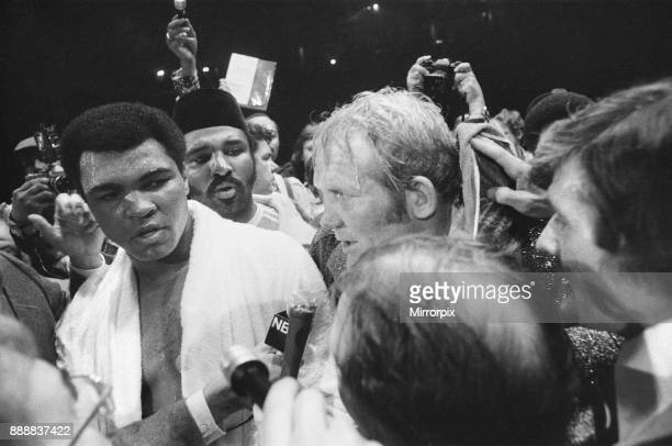 Muhammad Ali vs Richard Dunn at the Olympiahalle Munich Germany The Referee stopped the contest in the fifth round as Dunn was unable to continue Ali...