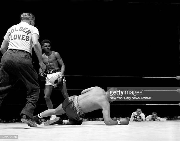 Muhammad Ali's first appearance in Madison Square Garden left little doubt he was born for the big stage Because his team needed a heavyweight the...