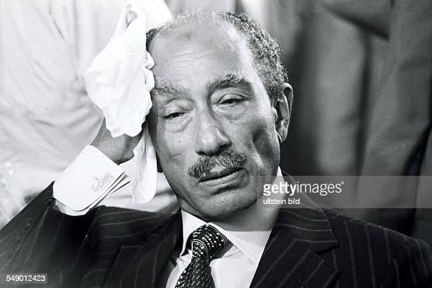 Muhammad Anwar al Sadat Praesident von Aegypten