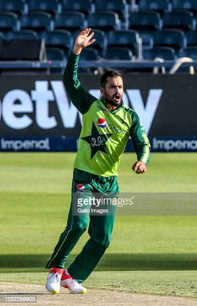 Muhammad Nawaz of Pakistan during the 2nd KFC T20 International match between South Africa and Pakistan at Imperial Wanderers Stadium on April 12,...