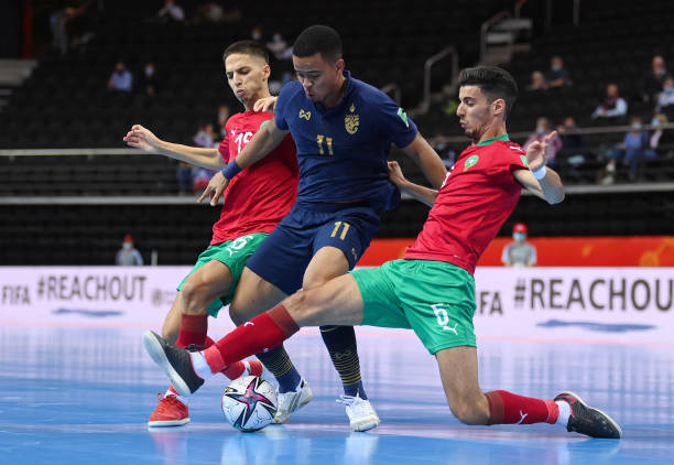 LTU: Thailand v Morocco: Group C - FIFA Futsal World Cup 2021